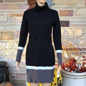 BCX Turtleneck Sweater Dress
